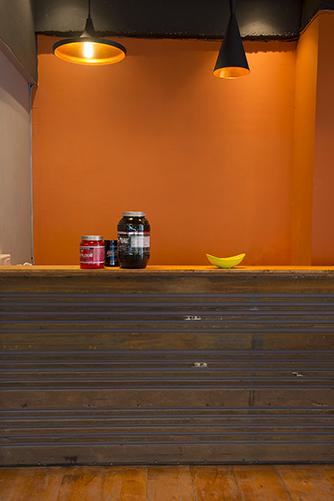 Café at Burn Gym.