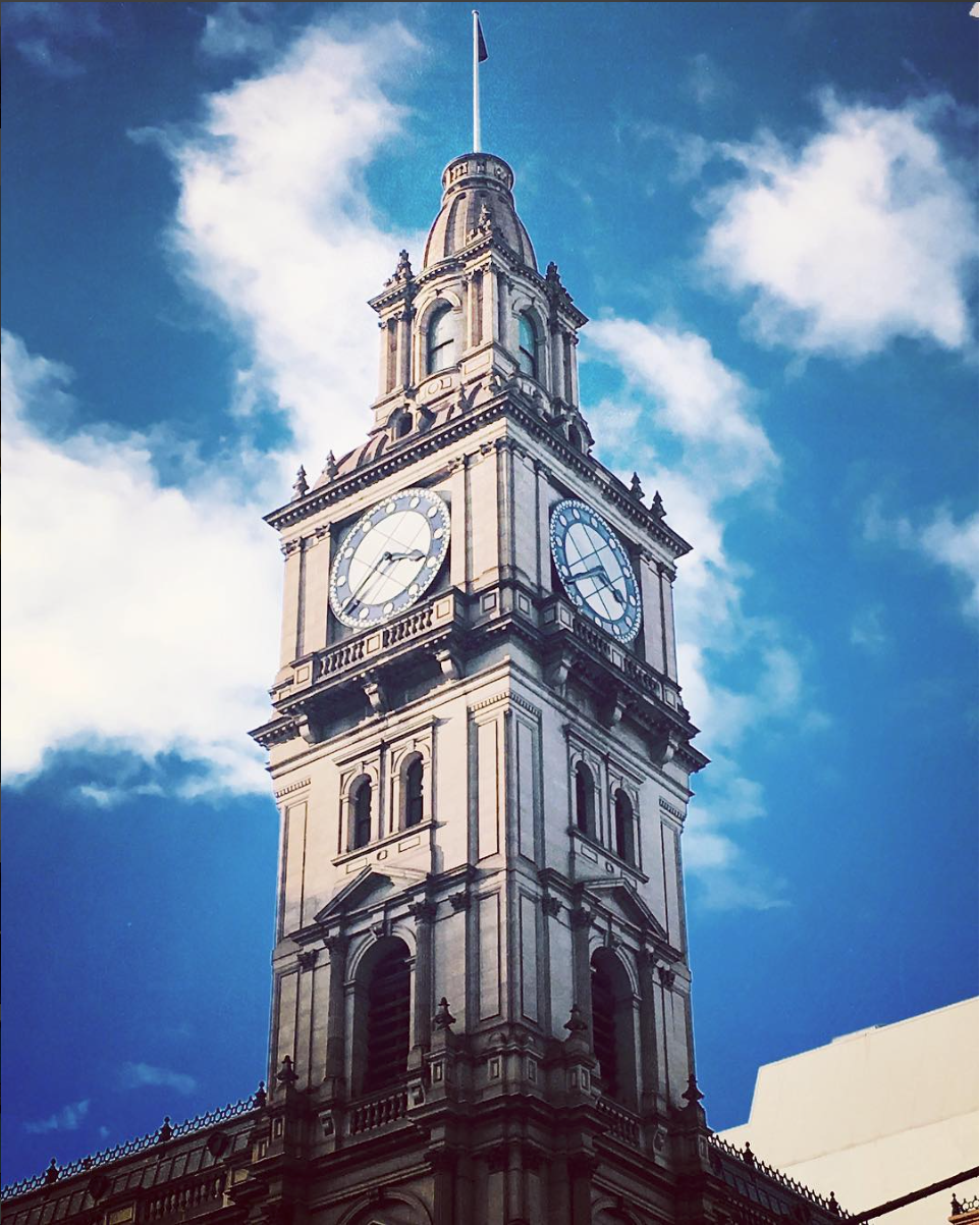 Clock Tower at Burke Street