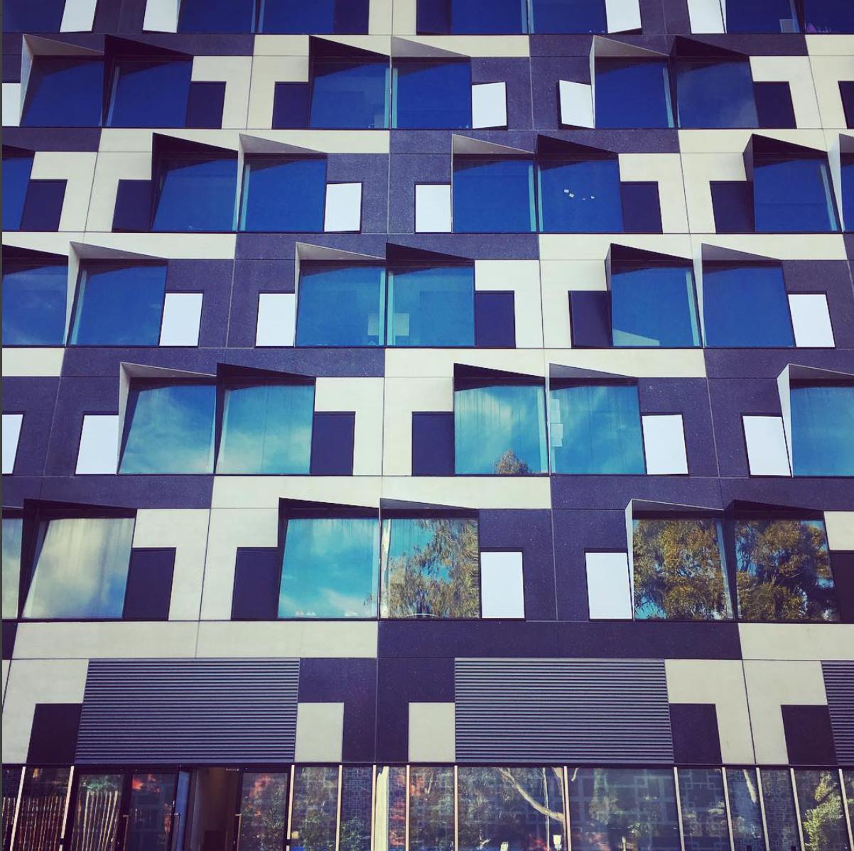 Beautifully Design Windows at Monash Clayton